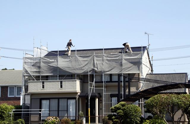 屋根工事をする際に覚えておきたい、ルーフィングについて